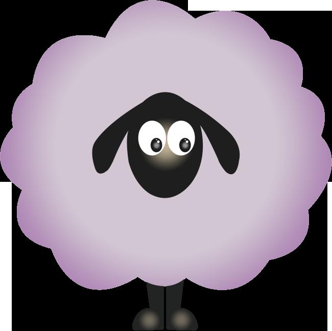mouton_violet